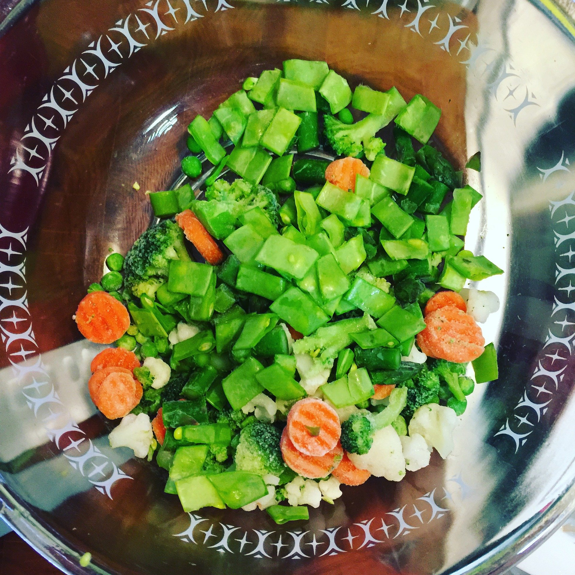 Making a salad to eat all week is a great way to food prep