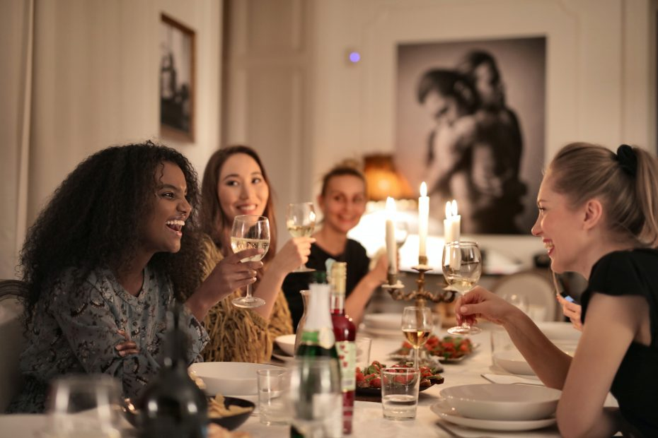 Build a community of friends through a monthly Dinner Club!